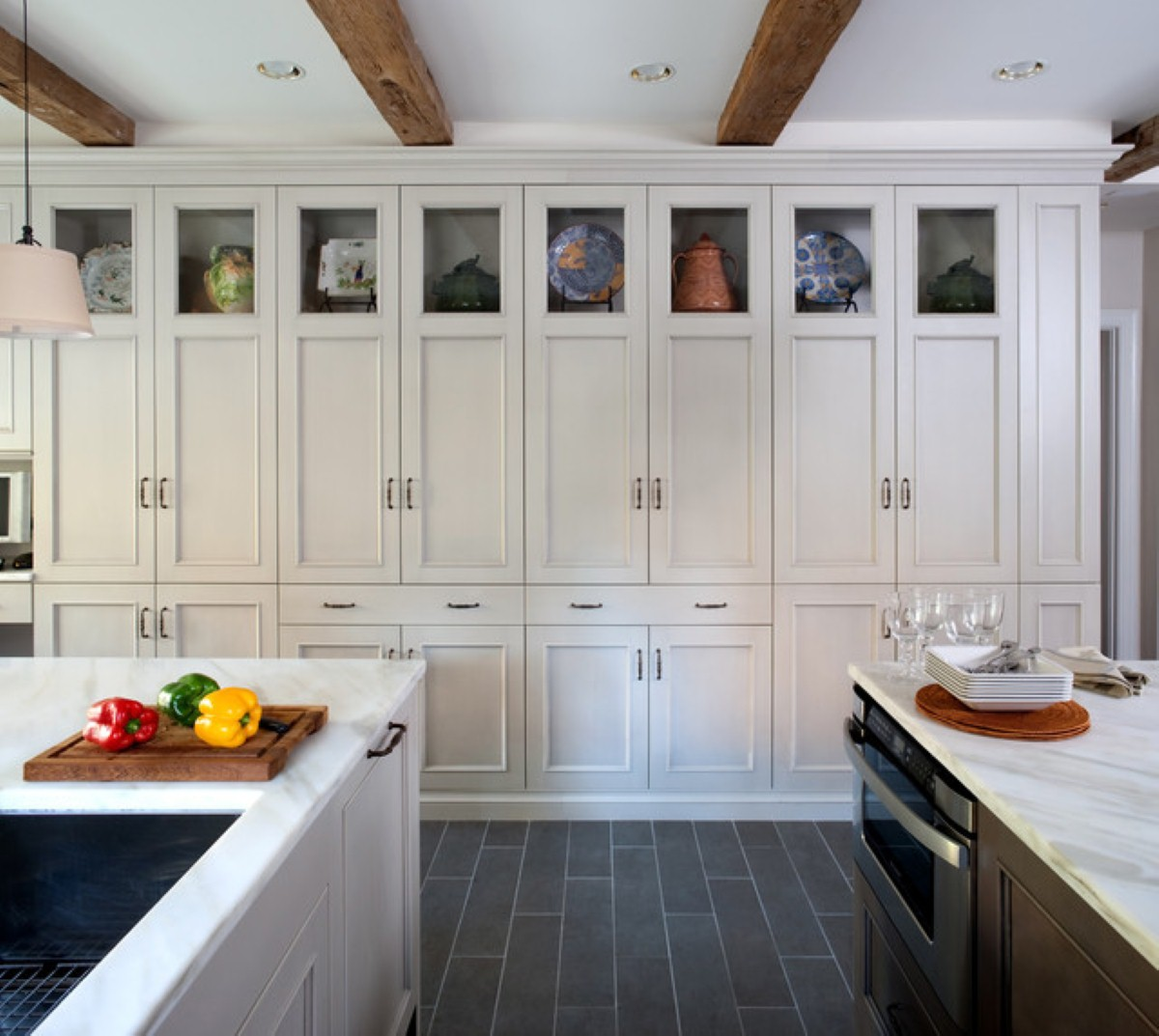 Floor To Ceiling Kitchen Units Everything In Its Place Storage Solutions Hire A Hubby Blog