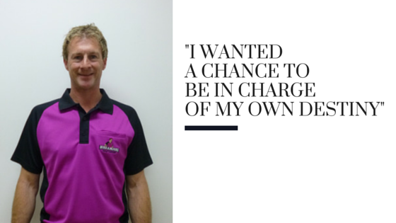 "Simon from Hire A Hubby North Rocks: ""I wanted a chance to be in charge of my own destiny"""