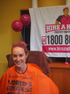 Kerryn from Hire A Hubby Commercial: World's Greatest Shave