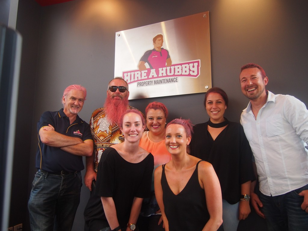 Hire A Hubby Head Office: World's Greatest Shave